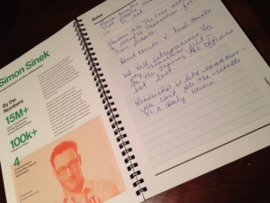 Simon Sinek notes